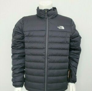 THE NORTH FACE Men Flare 550-Down Insulated Puffer Jacket Vanadis Grey Sz S ~XXL