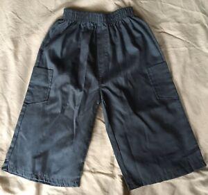 Grey Boys Shorts Age 8