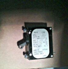 UPG1-25775-8 Airpax 25 Amp panel mount  Circuit Breaker  320-1322 Onan 2.8KV NOS