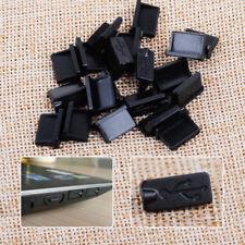 40 un. Negro una hembra puertos USB se conecta Anti Polvo Cubierta Protector Tapón PC Laptop