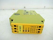 PILZ SAFETY RELAY PNOZX124VAC/DC3N/01N/C 774300