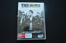 THE WIRE THE COMPLETE FIRST SEASON RARE NEW SEALED 5 DISC BOXSET DVD!   DVD