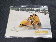 VINTAGE 1967 SKI-DOO SNOWMOBILE SALES BROCHURE 8 PAGES