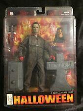 """NECA Reel Toys Halloween Michael Myers 7"""" Figure & Tombstone 2007 Rob Zombie"""