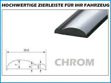 1m Zierleiste 30mm Zierblende Chrom Kantenschutz PKW Abdeckleiste Selbstklebend