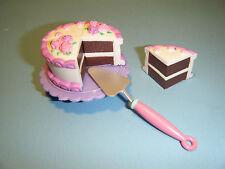 BARBIE KITCHEN LITTLES BIRTHDAY CAKE SET