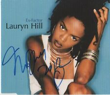 "Lauryn Hill ""The Fugees"" AUTOGRAFO SIGNED CD-Cover ""ex-FACTOR"""