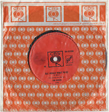 THE BYRDS - ALL I REALLY WANT TO DO Ultrarare 1965 OZ PSYCH/FOLK Single Release!