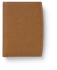 Cognac Grained 'Portrait' Wallet - Graf von Faber-Castell