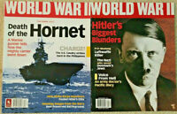 WORLD WAR II MAGAZINE Lot of 2, Death of the Hornet & Hitler's Biggest Blunders