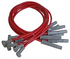 MSD Ignition 35859 8.5mm Red Spark Plug Wires AMC V8 Engines with HEI Style Cap