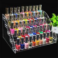 5 Tiers Acrylic Lipstick Holder Jewelry Display Box Cosmetic Makeup Organizer