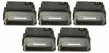 LOT 5 - NEW 38a Black Toner Cartridge for HP Q1338A 38A 4200 FAST FREE SHIP!!!