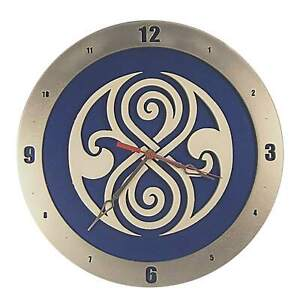 "Dr. Who Gallifreyan Wall Clock | 14"" Diameter 
