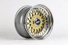 BBS RS070 3tlg 7/8,5x15 4x100 Felgen BMW E30 E21 Golf 1-2-3 Polo Jetta wheels