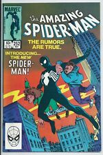 **AMAZING SPIDER-MAN #252**(MAY 1984, MARVEL)**1ST APP. OF BLACK SUIT SPIDEY**VF
