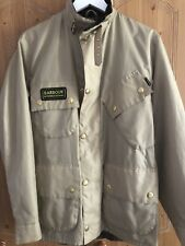 Barbour Motorcycle Jacket Coat Size Small-medium