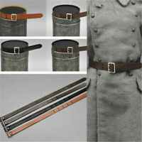 1/6 Scale Leather Waist Belt Model For 12'' Soldier Action Figure Toys Accessory