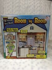 """Kitchen Toy Island Room By Room Kitchen Doll House Room 10""""x10"""" Lights Sound"""