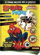 Evado mancoliste figurine SPIDER POWER Panini 2016 vedi lista