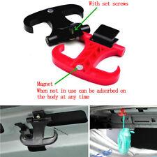 2Pcs High Quality Car Cargo Trunk Bag Hook Holder Hanger Organizer Plastic Black
