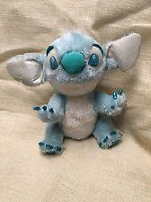"Disney Stitch Light Blue and Metalic Blue Plush 13"" Disney Store Exclusive"