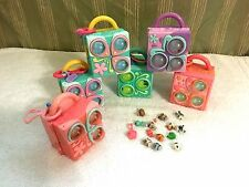 Littlest Pet Shop TEENIEST TINEST Compact Mini PLAYSETS Accessories Lot of 6