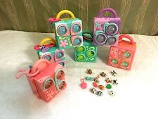 Littlest Pet Shop TEENIEST TINEST Compact Mini PLAYSETS Accessories Lot of 6