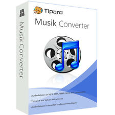 Musik Converter Tipard deutsche Vollversion 1 Jahr Lizenz ESD Download nur 9,99!