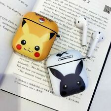 Cute Pikachu Yellow Cartoon Character Hard IMD AirPods Cover, 3D Funny...