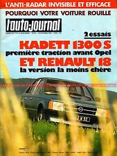 AUTO JOURNAL 1979-18 OPEL Kadett RENAULT R18 R5 Turbo SUNBEAM LOTUS ROLLS-ROYCE
