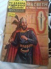 CLASSICS ILLUSTRATED #128 MACBETH [HRN 128] (1955, Gilberton)/ Art by Blum