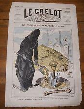 Le Grelot Journal Satirique N°99 De Profundis ! Par Alfred Le Petit 02/03/1873