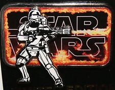 Disney 2015 Star Wars The Force Awakens Flame Trooper Countdown Le Pin #8 Noc