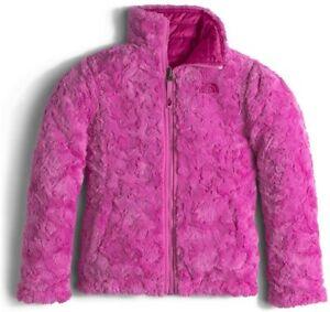 North Face Reversible Kids Jacket Roxbury Pink