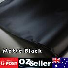 1.51M x 2M Air Bubble Free OEM Matte Black Sheet Vinyl Wrap Car Hood Bonnet Roof