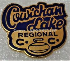 LAKE COWICHAN CURLING CLUB REGIONALS VANCOUVER ISLAND B.C. CANADA Pin