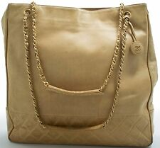 Chanel borsa a tracolla shoulder bag beige sac PORTE EPAULE senza tempo Model