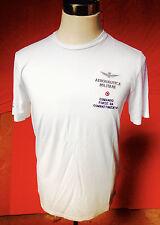 T-shirt da Uomo Dell'Aeronautica Militare, In Cotone colore Bianco nuovissima