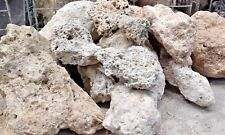 TUFA NATURAL ROCK  DECOR AQUARIUM MALAWI MARINE TANGANYIKAN- 8KG  -ALPINE GARDEN
