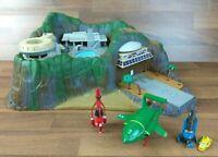 Matchbox 1992 Thunderbirds Tracy Island + Thunderbird 1,2,3,4 Diecast Vehicles