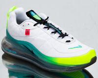 Nike MX 720-818 Worldwide Men's White Blue Fury Volt Lifestyle Sneakers Shoes