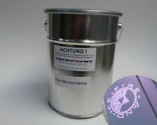 4 Liter Ready to Use Basic Paint VW LC4V Car lackpoint Golf 2 Fire & Ice Purple