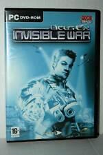 DEUS EX INVISIBLE WAR GIOCO USATO PC DVD VERSIONE ITALIANA RS2 42174