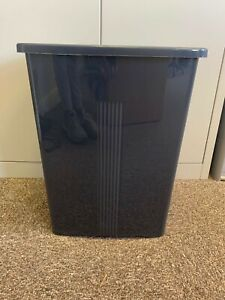 50L Bin Black Wham Without Lid