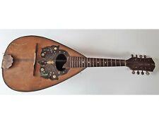 Mandoline 8-saitig Made in Germany Johannes Adler - Vintage