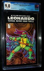 LEONARDO,TEENAGE MUTANT NINJA TURTLE #1 1986 Mirage Comics CGC 9.0 VF/NM
