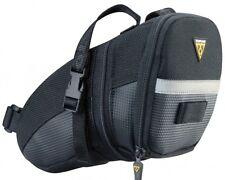 Topeak Aero Wedge Pack Under Saddle / Seat Bag Pack with Straps - Medium