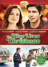 THE NINE LIVES OF CHRISTMAS DVD - SINGLE DISC EDITION - NEW UNOPENED - HALLMARK