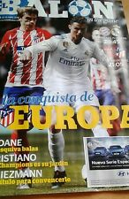 ARSENAL v ATLETICO MADRID 26/04/2018 PROGRAMME EUROPA LEAGUE semifinal first leg